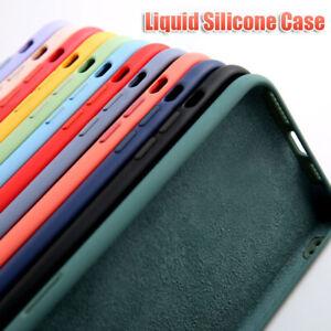 For Huawei P30 Pro P20 Lite Mate 20 Original Liquid Silicone Colorful Case Cover
