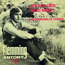 """7"""" FLEMMING ANTONY Jeg holder 1000 mod 1 / Mademoiselle Cherie TELEFUNKEN D 1970"""