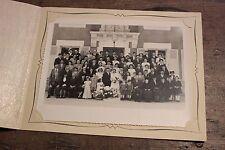 Ancienne photo groupe de mariage - Studio Shettle Châteauroux - Berry - N°7