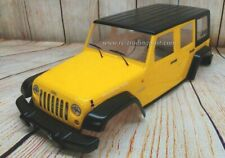 """Custom Painted Body Jeep Wrangler Unlimited Rubicon for 12.3"""" (313mm) RC Crawler"""