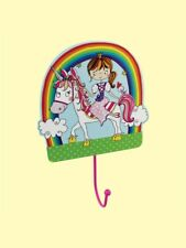 Rachel Ellen Princess Unicorn Wall Hook - Childrens Bedroom Accesories - Girls