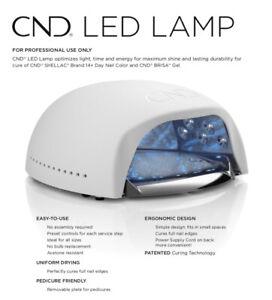 CND LED LAMP 2019 Cures Shellac & Brisa Professional LED Lamp * UK PLUG *OFFER*