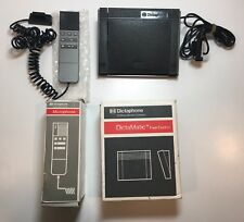 Dictaphone Microphone 860003 & DictaMatic Foot Control 142795 Pitney Bowes