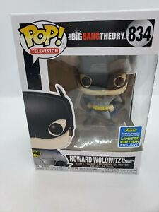 Funko Pop The Big Bang Theory Howard Wolowitz As Batman 2019 SDCC w/Protector