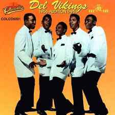 """THE DEL VIKINGS """"1956 Audition Tapes"""" Collectables (CD 1993) Doo Wop GREAT SHAPE"""