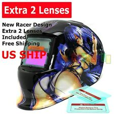 HG pro Solar Auto Darkening Welding Helmet Arc Tig mig certified mask grinding$$