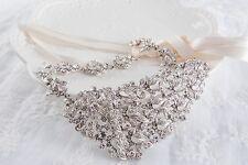 Luxury Wedding Hair Vine Crystal Bridal Accessories Rhinestone Headpiece 1 Piece