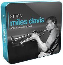 MILES DAVIS - SIMPLY MILES DAVIS (3CD TIN) 3 CD NEW!