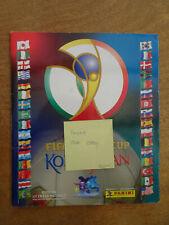 Panini Album  WM 2002 Japan/Korea komplett mit Bestellschein guter Zustand