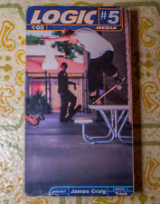 Logic Skateboard Media #5 Vhs J.P. Jadeed James Craig Gershon Mosley Blind Rare