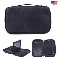 Portable Cosmetic Handbag Makeup Bag Pouch Brush Holder Beauty Storage Case US