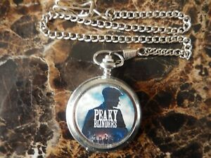 PEAKY BLINDERS POCKET WATCH WITH CHAIN (NEW)  (3)
