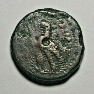 Egypt - unidentified coin of Ptolemy VI (?), 21 mm, obverse off-struck, die cud