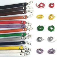 120cm Fuax Leather Strap Adjustable Crossbody Bag Replacement Handbag Handle B*