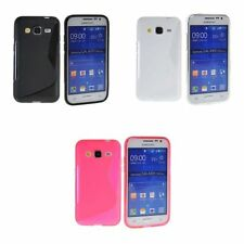 Étuis, housses et coques rouge en silicone, caoutchouc, gel pour téléphone mobile et assistant personnel (PDA) Samsung