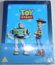 TOY STORY New 3D & 2D Blu-Ray STEELBOOK Lenticular magnet Region-All Pixar Movie