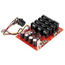 60A DC 10-50v 12V 24V 48V 3000W DC Motor Speed  Control PWM HHO RC Controller
