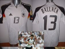 Germany BALLACK Adidas Adult XL Football Soccer Shirt Jersey Trikot Deutschland