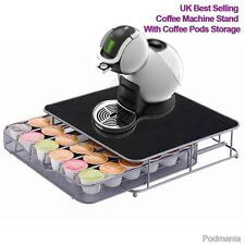UK DOLCE GUSTO 6 ROW COFFEE MACHINE STAND ESPRESSO CAPUCCINO CAPSULE POD STORAGE