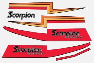 1980-81 Scorpion Snowmobile Sidewinder Hood Kit