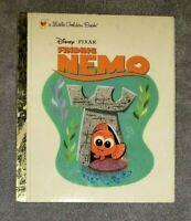 a Little Golden Book Disney Pixar FINDING NEMO  (2003, hardcover)