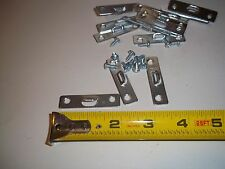 (50) Heavy Duty Steel Picture Frame Mirror Hangers 2 Inch 100 screws