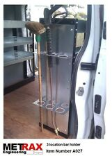 3 Bar / Pole / broom holder.Van Truck Racking Trafic T5 Transit Vivaro Sprinter
