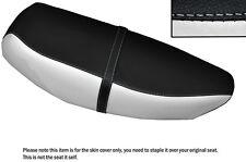 black & white custom fits yamaha cv 80 beluga riva 82-87 dual lthr sitzbezug