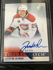 2015-16 Upper Deck SPA Jacob De La Rose Future Watch Auto 346/999