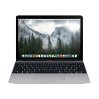 "Apple Macbook Core M3 1.1GHz 8GB RAM 256GB SSD 12"" Space Gray MLH72LL/A (2016)"