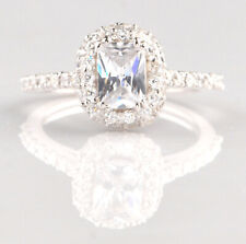 Anniversary Ring In 925 Sterling Silver Fancy Shape 2.60 Carat Solitaire Women's