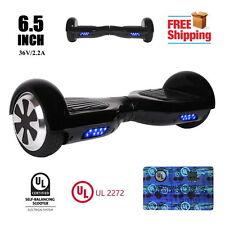 "UL2272 6.5"" Black Two Wheel Self Balancing Scooter 36V/2.2A"