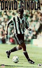 1995 David Ginola Juventus Original Starline Poster OOP