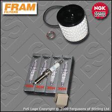 SERVICE KIT PEUGEOT 207 1.6 16V GT THP 150 FRAM OIL FILTER PLUGS (2006-2012)