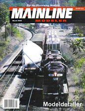 Mainline Modeler M02 NYC Monon Steel Rails C&NW B&O Abingdon Virginia Work Train