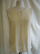 Ladies Top - Michael Gold, size 18, beige/cream, polyester, smart/casual - 7568