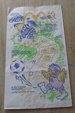 1991 McDonalds Happy Meal Bag - Ronald Birdie & Grimace - RARE!!