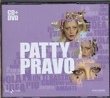 PATTY PRAVO box CD + DVD omonimo same MADE in the EU edizione 2007