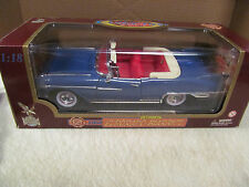 Road Legends Blue  1958 Cadillac Eldorado Biarritz  1:18 Scale