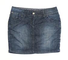 OPUS Jeans Minirock Größe 36 blau Modell Ronda blue denim