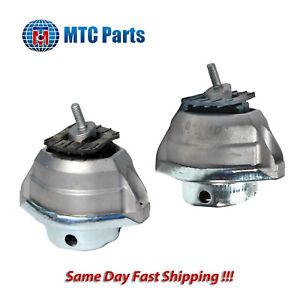 MTC Front L & R Engine Mount Set 2PCS. 04-10 for BMW 525i 528i 530i 2.5L 3.0L