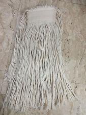 12 Mop di cotone filo tagliato da 500gr. con attacco pinza