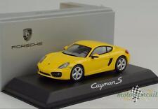 2013 Porsche Cayman S speedgelb 1:43 Schuco Diecast WAP Dealer