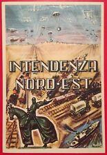 +++ cartolina d'epoca militare INTENDENZA NORD EST illustratore AINARDI +++