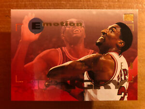 """SCOTTIE PIPPEN 1994-95 SKYBOX EMOTION """"HUNGRY"""" #13"""