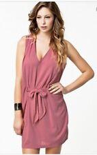 BNWOT Filippa K Bianca Pink Tie Front Drapey Lagenlook Dress Small