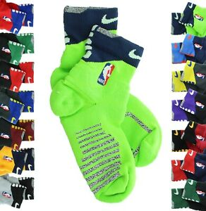 Nike NBA Authentics Elite Ankle Socks, Men's Slip Resistant Cushioned, PSK089