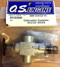 O.S. Carburetor #60M - C 91SZ/RZ - H 29183000 NEW
