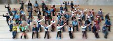 Spettatori tifosi Subbuteo Zeugo dipinti a mano 49pz