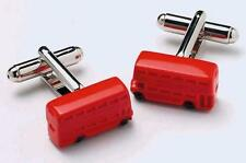 Mens Red London Bus Driver Novelty Cufflinks & Gift Box By Onyx Art